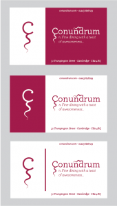 Conundrum Business Cards